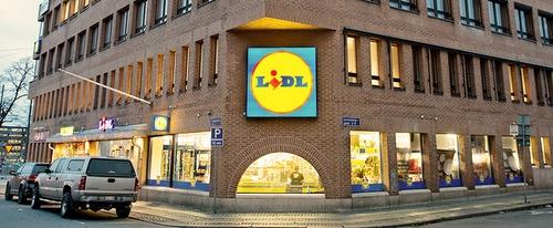 Lidl ruokakauppa Sveavägen Tukholma
