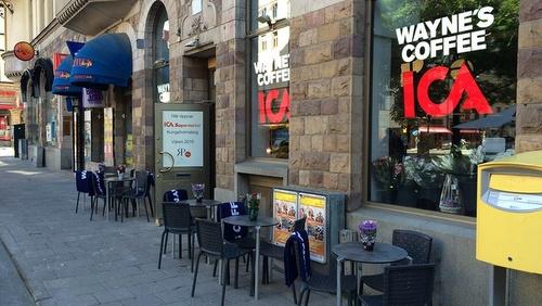 Wayne's Coffee kahvila Tukholma