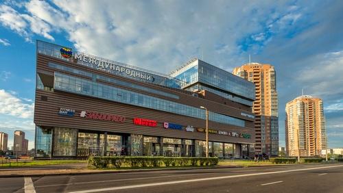 Mezhdynarodnyi kauppakeskus Pietari Venäjä.
