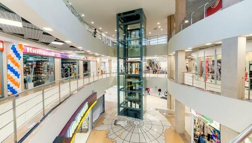 Yuzhni Polyus ostoskeskus Pietari Venäjä.
