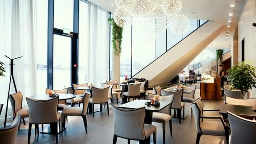 ENZO kahvilan sisätilat Tallinna.