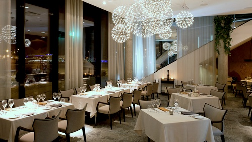 ENZO ravintolan sisätilat Tallinna.