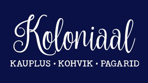 Koloniaal kohvik kahvila Tallinna.