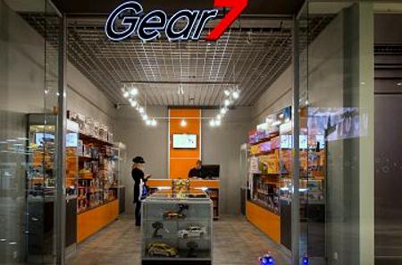 Gear 7 myymälä Ülemiste Keskus Tallinna.