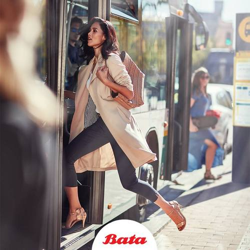 Bata women's shoes, available in Venice, Italy.