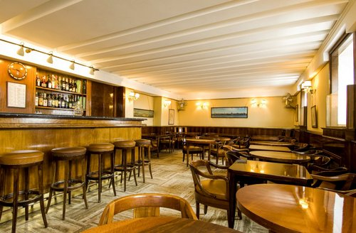 Harry's Bar Cipriani in Venice, Italy.