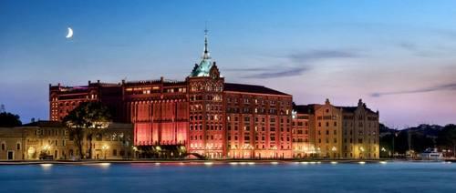 Hilton Molino Stucky Venice Hotel in Venice, Italy.