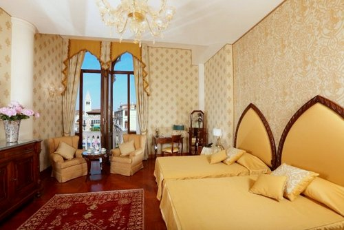 Junior Suite at Hotel Palazzo Stern in Venice, Italy.