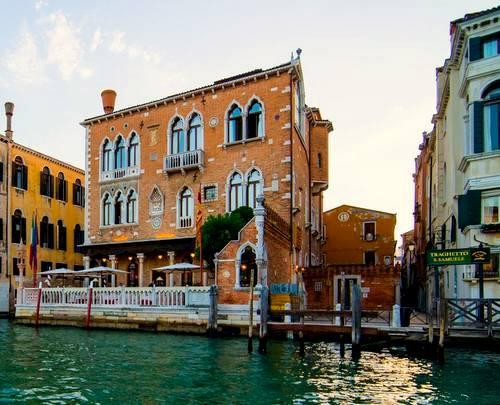 Hotel Palazzo Stern in Venice, Italy.