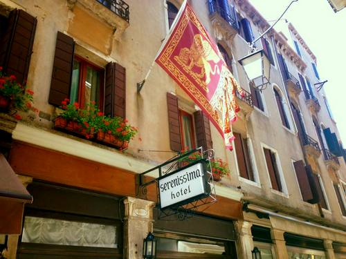 Hotel Serenissima in Venice, Italy.