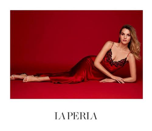 La Perla's Maison Night Gown, available in Venice, Italy.