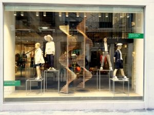 United Colors of Benetton store in Venice, Italy.