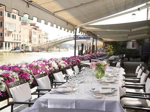 Hotel Principe's Sivoli restaurant in Venice, Italy.