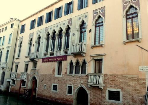 Liassidi Palace Hotel in Venice, Italy.