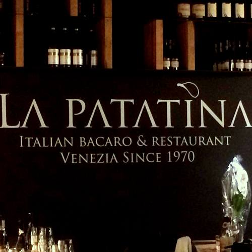 Osteria La Patatina Venezia restaurant in Venice, Italy.