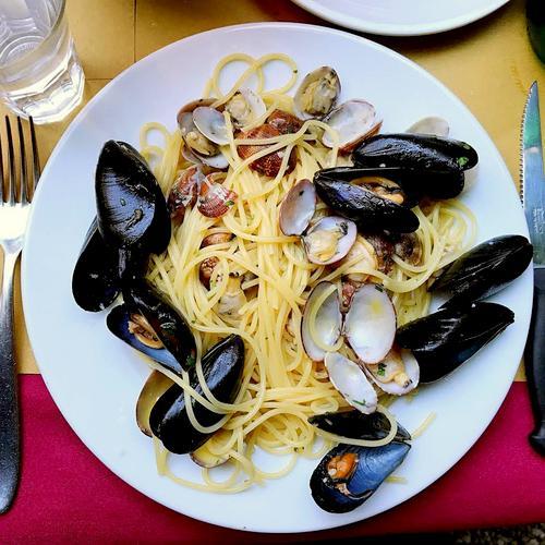 Osteria Nono Risorto's meal, available in Venice, Italy.