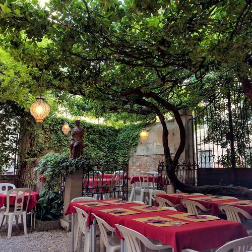 Osteria Nono Risorto restaurant in Venice, Italy.