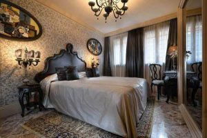 Palazzetto Madonna Hotel's deluxe room in Venice, Italy.