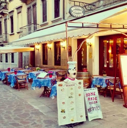 Ristorante Pizzeria Vesuvio in Venice, Italy.